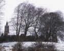Skryne Church in winter