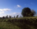 The old graveyard in Rathfeigh